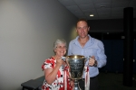 2012 AFL Premiership Coach John Longmire with Robyn Pfeiffer_1